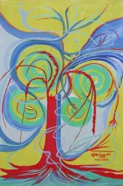 Picturi abstracte/ moderne CURCUBEUL SALCIEI