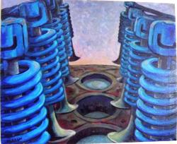 Picturi abstracte/ moderne Balet mecanic