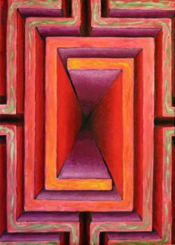 Picturi abstracte/ moderne Simetricul labirint al iubirii
