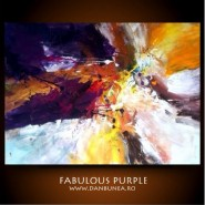 Picturi abstracte/ moderne Fabulous purple