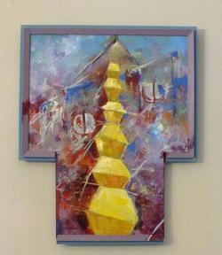 Picturi abstracte/ moderne COLOANA INFINITULUI