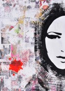 Picturi abstracte/ moderne Collage girl