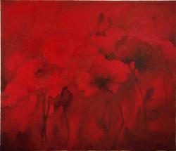 Picturi abstracte/ moderne ...si mai rosu