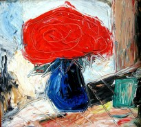 Picturi abstracte/ moderne Natura moarta flori