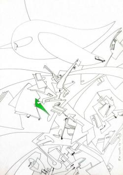 Picturi abstracte/ moderne Zbor mecanizat
