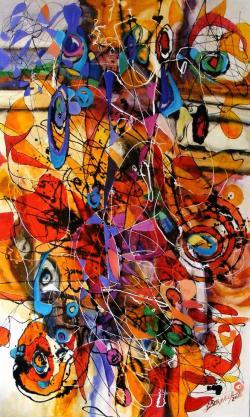 Picturi abstracte/ moderne Clopotei si zurgalai