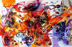 Picturi abstracte/ moderne Condurii doamnei