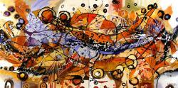 Picturi abstracte/ moderne Coperta de toamna