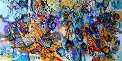 Picturi abstracte/ moderne Culuarul meduzelor in alta pozitie