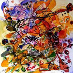 Picturi abstracte/ moderne Fantoma de la opera