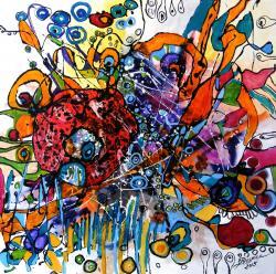Picturi abstracte/ moderne Geana pamantului
