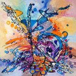 Picturi abstracte/ moderne Masina de vise