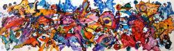 Picturi abstracte/ moderne parada fluturilor
