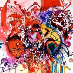 Picturi abstracte/ moderne Perla zilei, abstract,original art by E.Bissinger