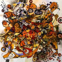 Picturi abstracte/ moderne Primul zbor
