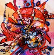 Picturi abstracte/ moderne Seara nemilosilor