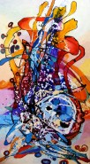 Picturi abstracte/ moderne Ulcica ferecata