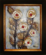 Picturi abstracte/ moderne Abstract roses