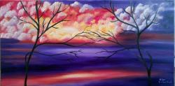Picturi abstracte/ moderne Spectacular landscape