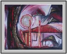 Picturi abstracte/ moderne Amurg