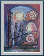 Picturi abstracte/ moderne Poarta spre lumina
