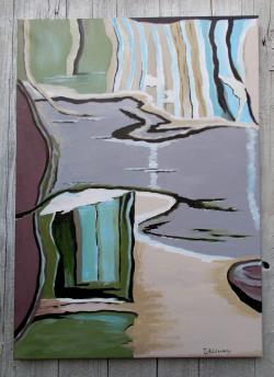 Picturi abstracte/ moderne rexlexii 5