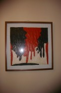 Picturi abstracte/ moderne Black and red