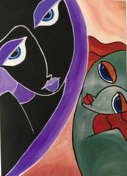 Picturi abstracte/ moderne Popart2