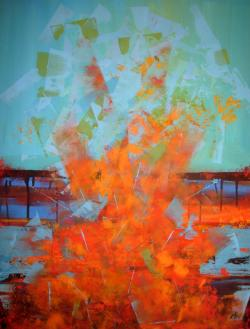 Picturi abstracte/ moderne Fire 1