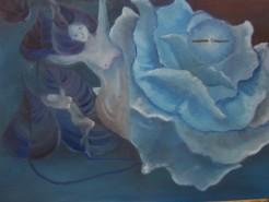 Picturi abstracte/ moderne Floarea timpului