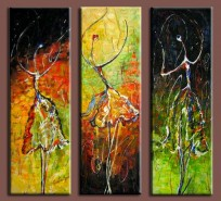 Picturi abstracte/ moderne Balerine