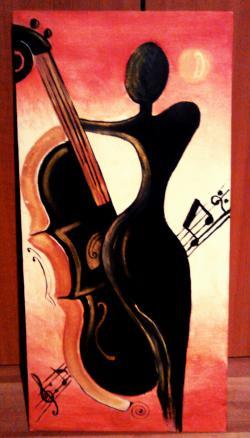 Picturi abstracte/ moderne Stradivariuss