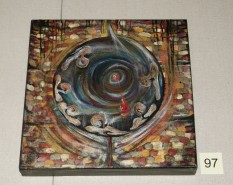 Picturi abstracte/ moderne The womb