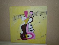 Picturi abstracte/ moderne Jocul muzicii