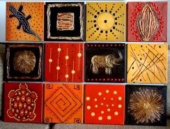 Picturi abstracte/ moderne Africa