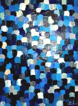 Picturi abstracte/ moderne Dots 1