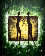 Picturi abstracte/ moderne Silhouette
