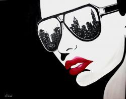 Picturi abstracte/ moderne Summer Nights