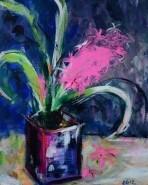 Picturi abstracte/ moderne Zambila roz