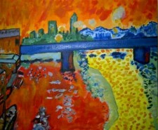 Picturi abstracte/ moderne Modern fauvism
