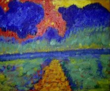 Picturi abstracte/ moderne Path to the sea