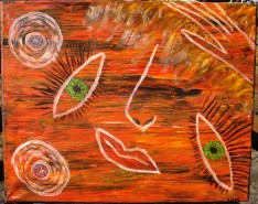 Picturi abstracte/ moderne Placere