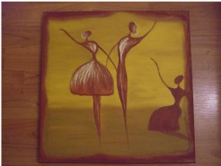 Picturi abstracte/ moderne A treia persoana