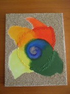Picturi abstracte/ moderne Curcubeul meu