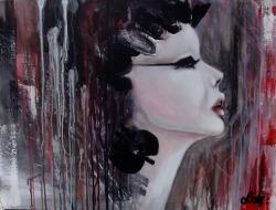 Picturi abstracte/ moderne Geisha