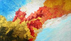 Picturi abstracte/ moderne Boboci Imperiali