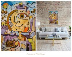 Picturi abstracte/ moderne Promenade A Cassis