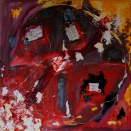 Picturi abstracte/ moderne Broadcastin the funeral