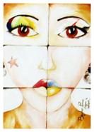 Picturi abstracte/ moderne Culoare si imperfect