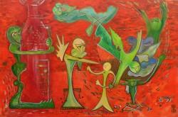 Picturi abstracte/ moderne Gustul vinului
